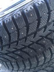 Göygöl şəhərində Bridgestone yapon istehsali 205/65/16 ölçüde, 3000 km surulub