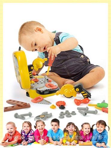 Alat za decu – mini kofer - Belgrade