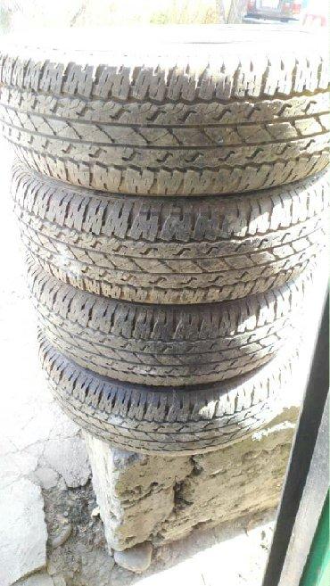 шины 18570 r14 в Кыргызстан: Продаю шины - резину!!! Торг в рамках разумного!!!