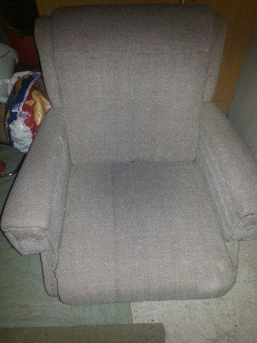 Nameštaj - Paracin: Fotelja ocuvana. Prirodni materijal. Visak pogledajte i ostale moje