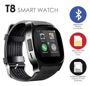 Smart watch t8 pametan sat sim-kamera nov model 2018 vise boja u - Belgrade