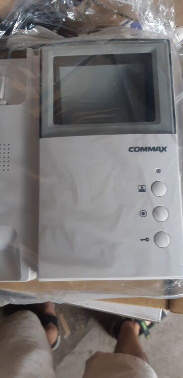 Дешево. новый ч/б домофон commax южная корея. без вызывного