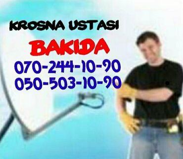 Məişət xidmətləri Azərbaycanda: Krosna Peyk Antena Atvplus Ustasi Bakida Azeri Rus Turk Kanallari. Tv