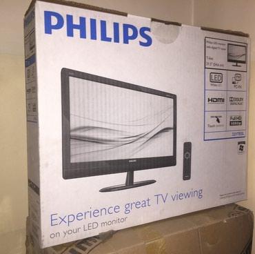 """Монитор новый LCD TV 21.5"""" PHILIPS 221TE2LB (1920x1080, в Бишкек"""