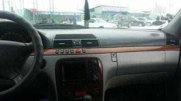 легендарный мерседес -бенц w220  s500   пробег   192 777  оригинал    в Бишкек - фото 6