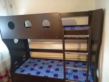 Новый двух ярусный кровать рзмер 190:80