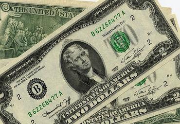 Купюры в Кыргызстан: Продам Редкую купюру 2 доллара USA на удачу, на презент . 2 доллара