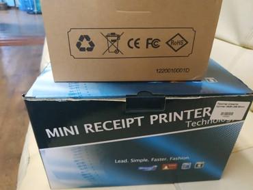 Мини принтер этикеток плюс сканер в Бишкек