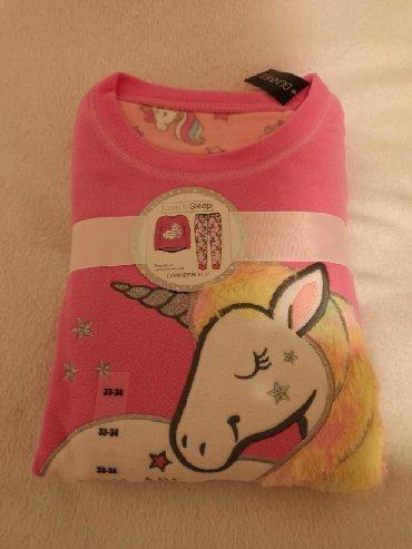 Пижама флиссовая на девочку размер 33-34 магазин Dunnes Stores Англия