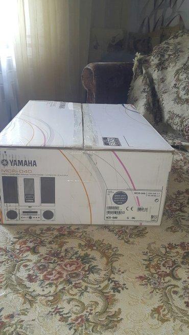 Bakı şəhərində Продаю hi-fi  mikro sistema yamaha mcr-040. новый в