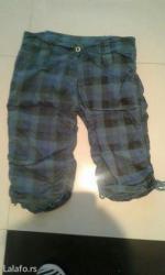 Pantalone sa - Srbija: Pantalone do kolena sa uckurima