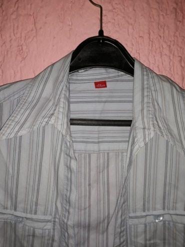 Kosulja-haljinica-pre-stoji-markirana - Srbija: Markirana original kosulja. S.Oliver marka. Dostupna u S i M velicini