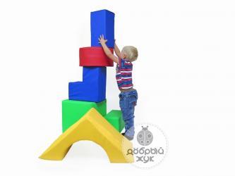 Мягкие кубики отличаются, формой и в Бишкек