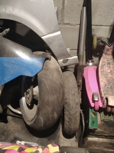 yamaha r1 в Кыргызстан: Продам запчасти на мотоцикл только все вместеРама и пластик от