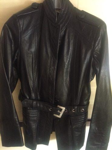 Crna monina kozna jakna izuzetnog kvaliteta - Vranje