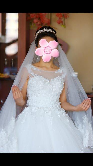 Сдаю свадебное платье в комплект к в Бишкек