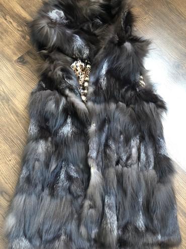 жилетка натуральный мех в Кыргызстан: Жилетка натуральный мех