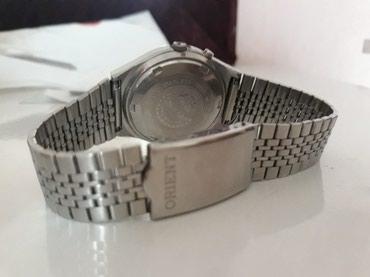 Bakı şəhərində Kişi Gümüşü Klassik Qol saatı Orient