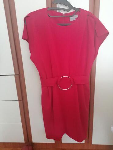 Haljina-crvena-ic - Srbija: Crvena asos haljina sa dzepovima