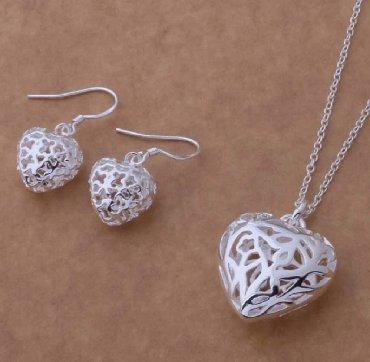 Jewellery Sets - Srbija: Komplet set Srca 925 - Nakit