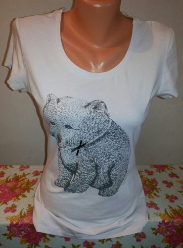 Милая футболочка от Sela. почти новая. в в Бишкек