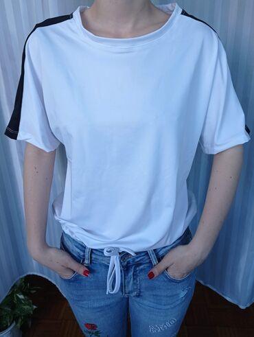Ženske majice - Novo - Sivac: Mokra likra  1000
