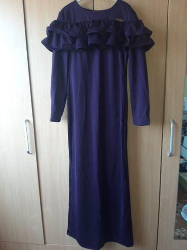 Платье вечернее темно-феолетового в Бишкек