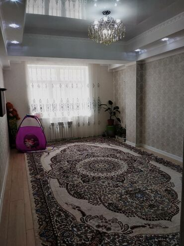 Продажа квартир - Жженый кирпич - Бишкек: Элитка, 1 комната, 52 кв. м Теплый пол