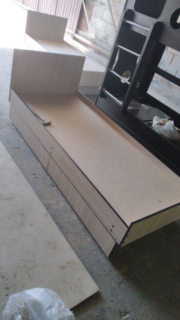 спальные кровати с матрасами в Кыргызстан: Кровать на заказ доставка и установка бесплатно  без матрас С матрасо