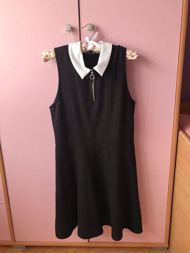 Pantalone tally weijl sa elastinom - Srbija: Crna haljinica sa belom kragnicom- Tally Weijl