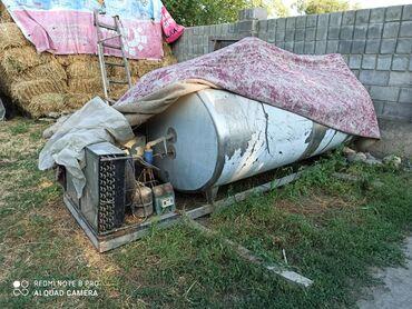 Бочка-для-молока - Кыргызстан: Срочно продаю цистерна холодильник для молока можно на машину поставит