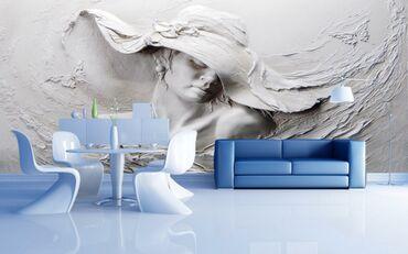 3D divar kağızının avantajları:-Geniş rəng və tekstura modelinə