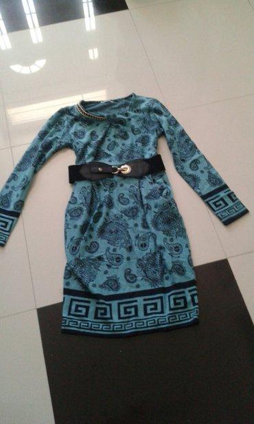 Haljina boja zelena dostupna u svim velicinama sa kaisem jako lepo - Backa Palanka
