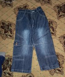 Джинсовые брюки на 3-4 года