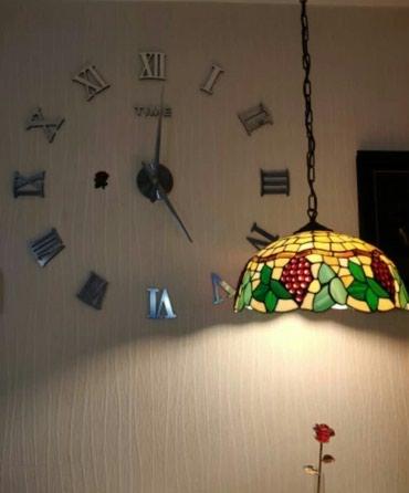 Sumqayıt şəhərində 3D Dekor Divar Saati..