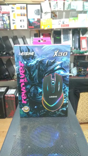 Bakı şəhərində LEISHE X30 Gaming Mouse usb