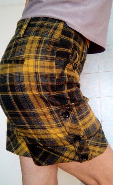 odejda в Кыргызстан: Продам шорты в клеточку. ткань плотная, немного стрейчевая. не