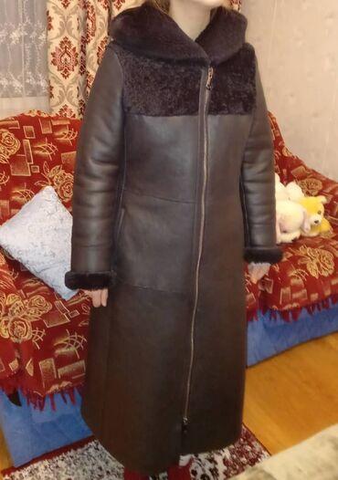 отдам в Кыргызстан: Продаю натур.дубленку. Размер 46. Покупала за 40 000. Состояние