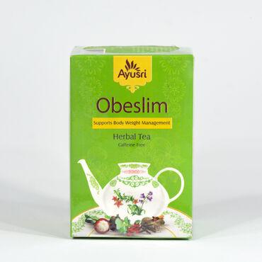 Чай Обеслим Предназначен для контроля веса и нормализации