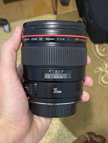 Obyektivlər və filtrləri Azərbaycanda: Salam Aleykum. Canon 35mm f/1.4 Satiram. Lens ideal veziyyetdedir