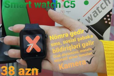 nokia c5 00 в Азербайджан: SMART WATCH C5
