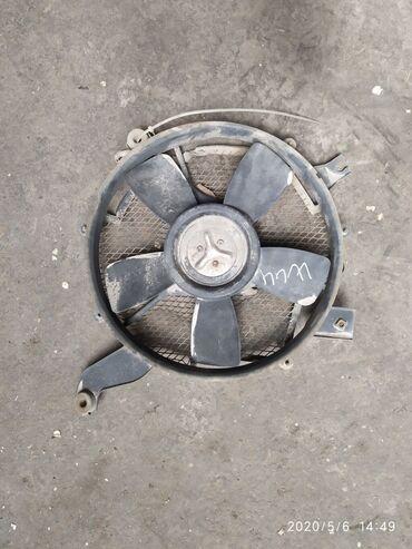 Mitsubishi pajero 2, паджеро вентилятор охлаждения двигателя