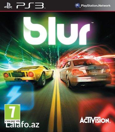 """Bakı şəhərində """"BLUR"""" PS3 oyunu"""