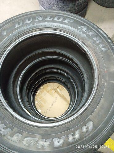 мир шин бишкек в Кыргызстан: 265/65/17 комплект шин Данлоп Япония без шишек и порезов цена за