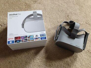 Видеоигры и приставки - Кыргызстан: Очки виртуальной реальности Oculus Go 64Gb. Очень много игр и