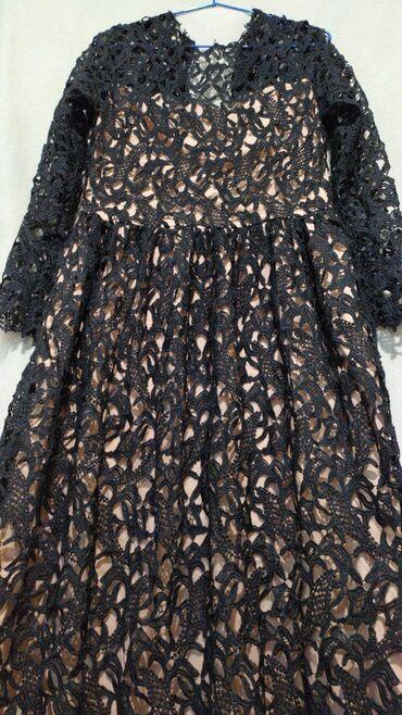 черное платье на свадьбу в Кыргызстан: Очень красивое платье. В реальности ещё красивее.Привезен на