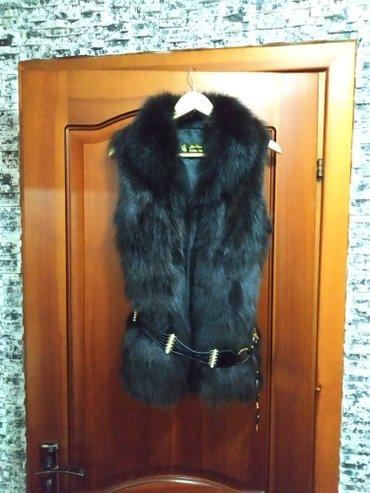 Продаю меховую жилетку. Цена договорная в Бишкек