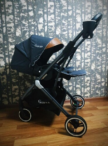 коляска-voondo-2в1 в Кыргызстан: Продается коляска премиум класса Gokke Германия 2019 года С рождения