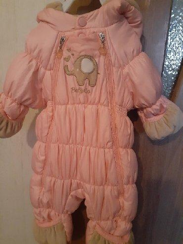 детская одежда бу для мальчиков в Кыргызстан: Комбенизон бу 62рост 0до 6мес примерно