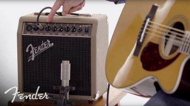 Bakı şəhərində Fender ACOUSTASONIC 15 - akustik gitar ucun amfi